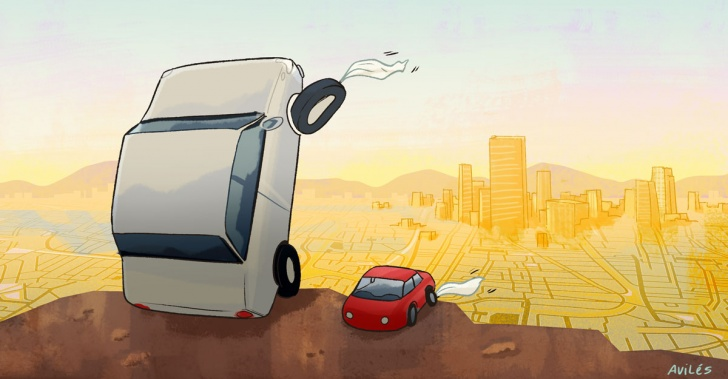 autos, transporte, ciudad, carpooling, bicicleta, sistema, público