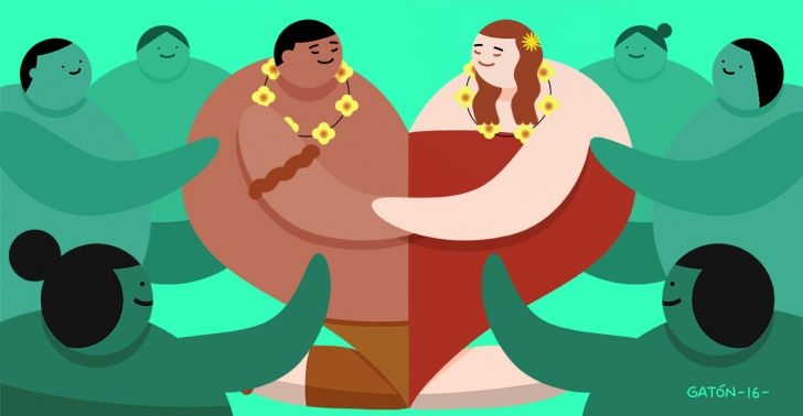 perdon, hawaii, gracias, reconciliacion, tecnica