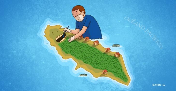 Chile, localidades aisladas, universitarios, estudiantes, salud, Isla Mocha