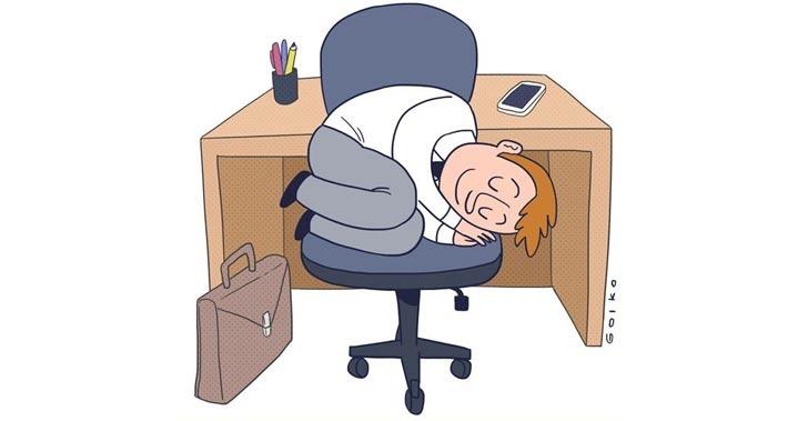 siesta, dormir, descanso, beneficios, trabajo