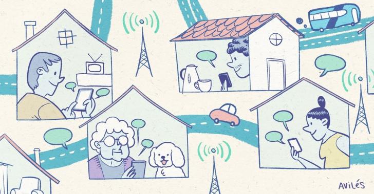 internet, conexión, whataspp, chat, brecha digital, Universidad de Chile