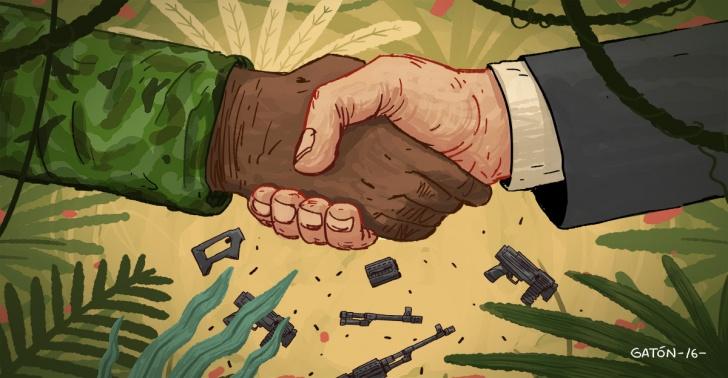 Colombia, FARC, guerrilla, armas, guerra, paz
