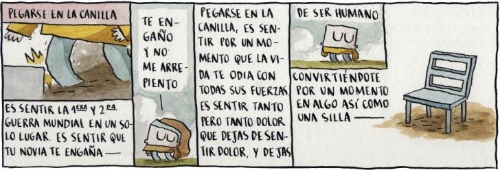 Dolor, Guerras, Novias, Muebles, Vida, Cómic, Chile