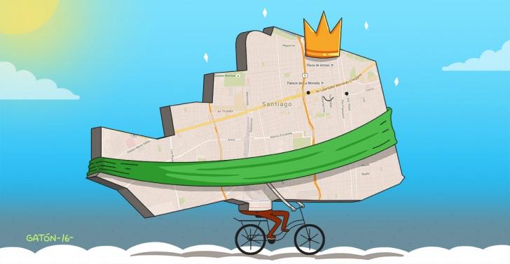 santiago, comuna, ciudad, transporte, sustentable, premio, mundial