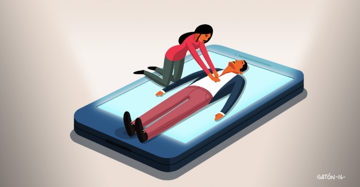 Salud, emergencia, prevención, aplicación, app, comunidad