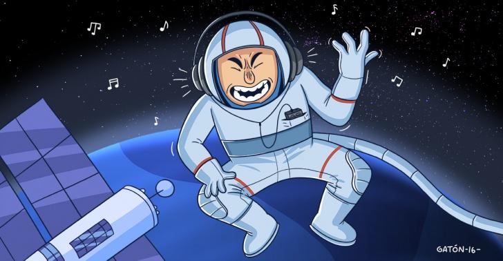 música, canciones, espacio, Universo, astronautas, NASA