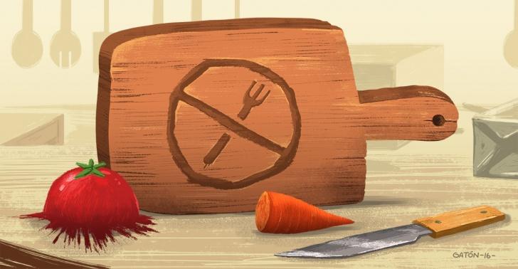 comida, cocina, jamas, hacer, bacteria, intoxicacion, higiene, salud