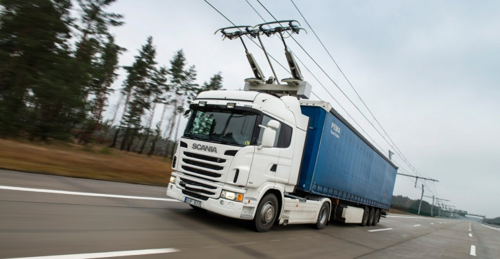 carretera, transporte, sustentabilidad, electricidad, camiones, Suecia, Siemens, Scania