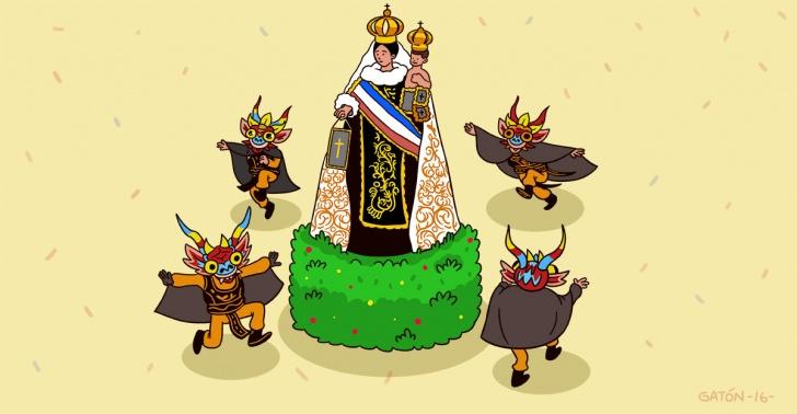 la tirana, fiesta popular, virgen, devoción, bailes chinos, diabladas, indios, norte grande