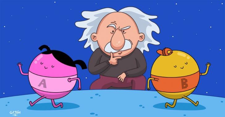 ciencia, misterio, mecánica cuántica, Einstein, Teorema de Bell, física