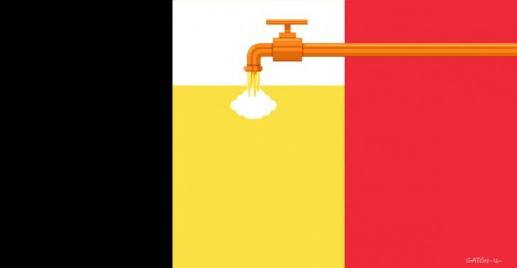 cerveza, belgica, brujas, cañeria, subterranea, industria, embotellamiento