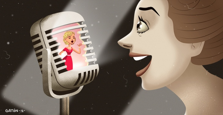 cine, música, cine musical, teatro, ópera, marni nixon, doblaje, playback, voz, canto, hollywood, marilyn monroe