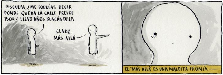 Fantasmas, Espíritus, Muerte, Vida, Cómic, Chile