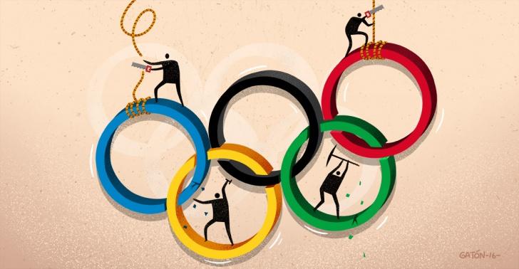 JJ.OO, deporte, Juegos Olímpicos, política