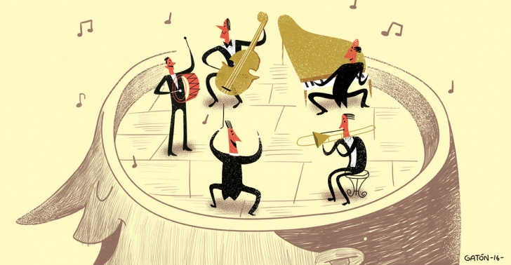 Música, melodías, mente, alucinaciones, Beethoven