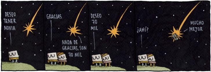 Deseos, Estrellas, Meteoritos, Novios, Amor, Dinero