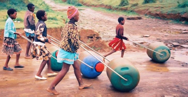 Image result for recoleccion de agua en africa