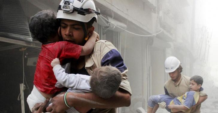 Siria, guerra, Cascos Blancos, rescatistas, emergencias, Nobel de la Paz