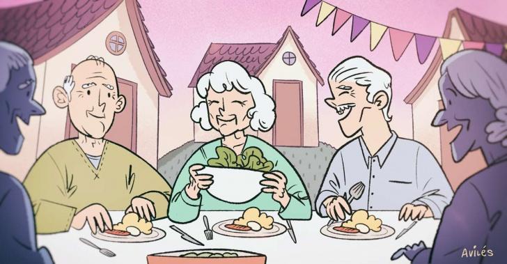 Tercera edad, adultos mayores, vivienda, hogar, convivencia, cohousing