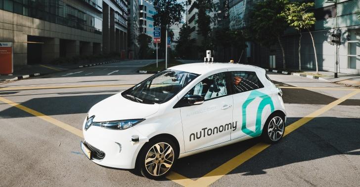 taxi, auto, autonomo, manejar, conducir, solo, tecnologia, singapur, prueba, innovacion