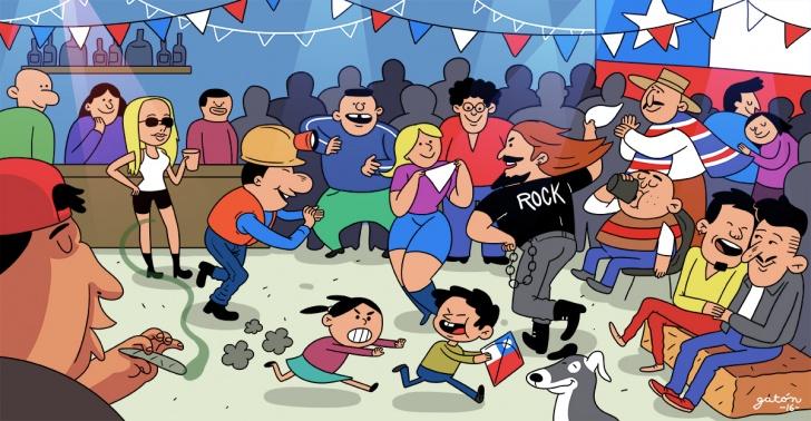18 de septiembre, fiestas patrias, chile, fondas