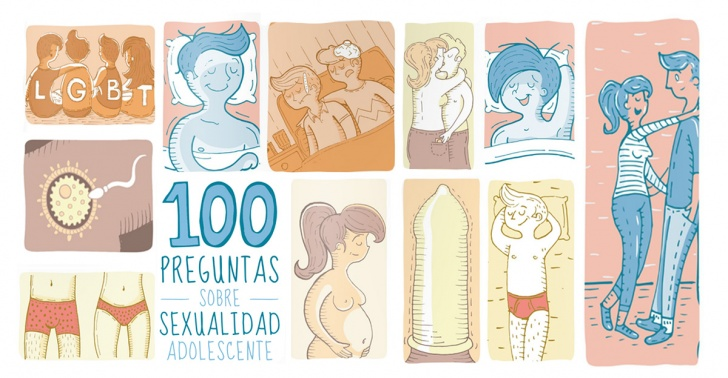educacion, sexual, libro, preguntas, sexualidad, 100, adolescencia, sexo, aprendizaje