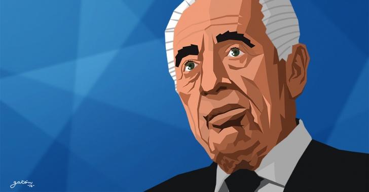 Shimon Peres, Israel, Acuerdo de Oslo, Nobel de la Paz, Palestina, medio Oriente, conflicto árabe-israelí