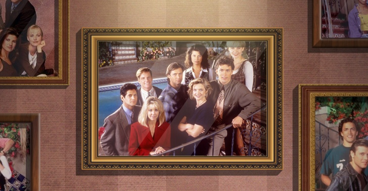 Melrose Place, TV, series, arte, protesta