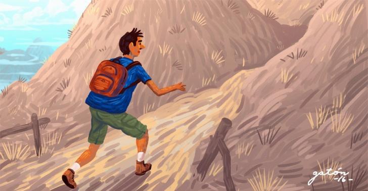 trekking, deporte, senderismo, extravío, seguridad, sobrevivencia