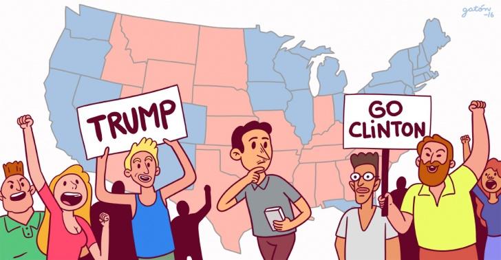 Elecciones de EE.UU., presidente electo Donald Trump, protestas contra Trump, política estadounidense, sistema político EE.UU.