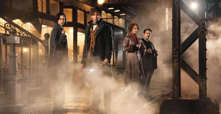 Cine, J.K Rowling, Harry Potter, Animales Fantásticos, ciencia ficción