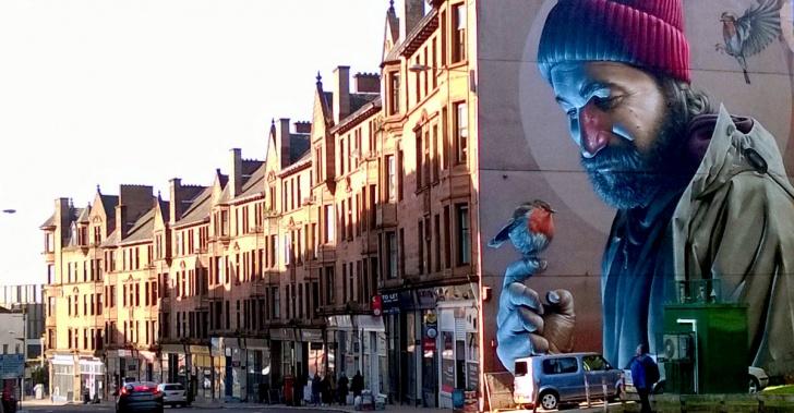 Arte callejero, cultura, Glasgow, crisis, resilencia