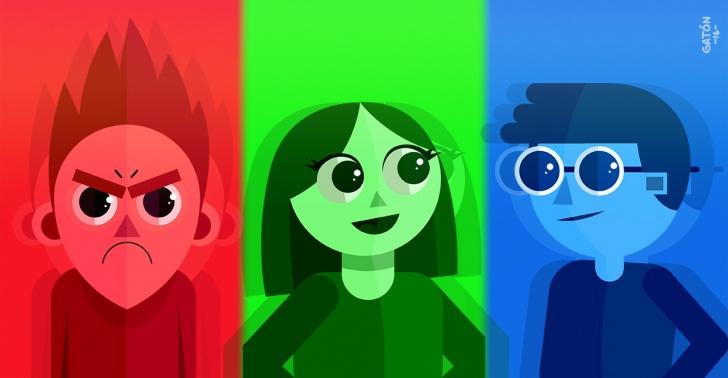 colores, psicología, ciencia, publicidad, energía, luz