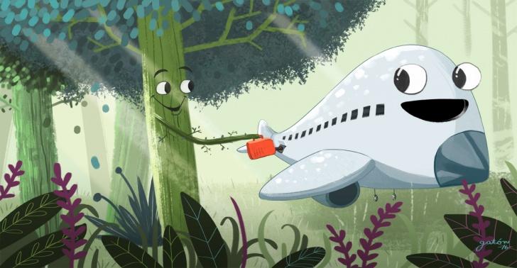 ecología, medio ambiente, aviones, industria, combustible, madera, bosques, Estados Unidos