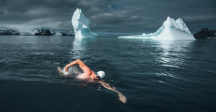 oceanos, mares, antartica, clima, frio, ambientalista, proteccion, nadar, natacion, chile, antartida