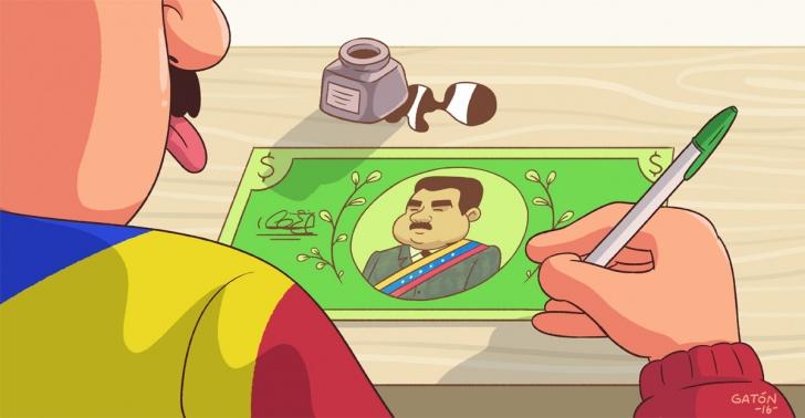 venezuela, moneda, maduro, chavez, billete, 100, economia, inflacion, devaluacion