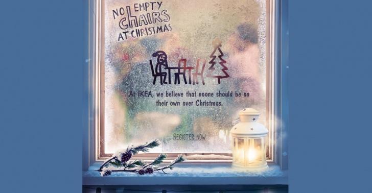 navidad, solos, ikea, no empty chairs, hogar de cristo, caravana, padre hurtado
