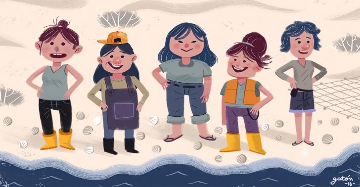 pesca artesanal, USS, recolectoras de orilla, Arauco, pescadores, emprendimiento