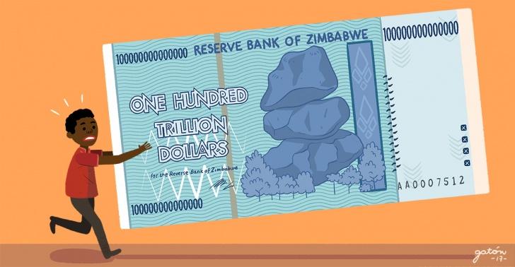 zimbabue, economia, billete, dolar, pais, africa, sociedad, billon