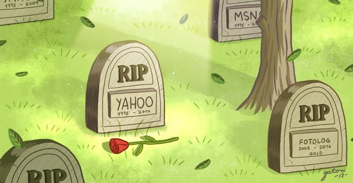 Yahoo, internet, caída, web, Google, negocio, fracaso, inovación