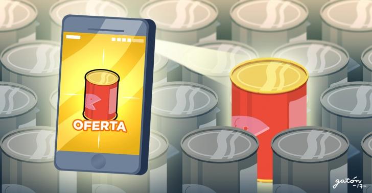 comida, Ecomida, aplicación, desperdicio alimentario, ofertas