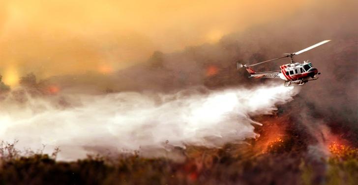 incendio, incendio forestal, megaincendio, Bomberos, Conaf, Zona central, aviones, hidroaviones, helicópteros, SuperTanker, emergencia