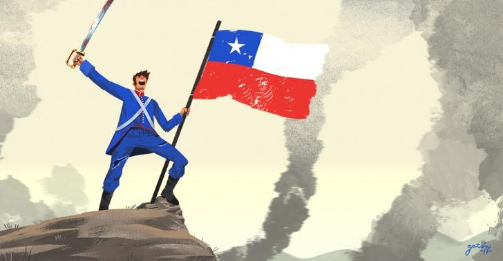 Batalla de Chacabuco, Chile, Argentina, Ejército de Los Andes, Colina, hazaña