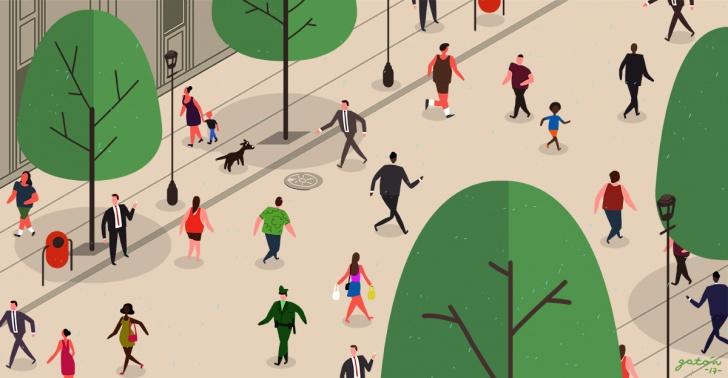 peatonalización, peatonal, centro, ciudad, calles, calles peatonales