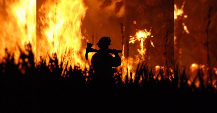 Incendio, apagar, prevenir, campaña, tecnología, solución