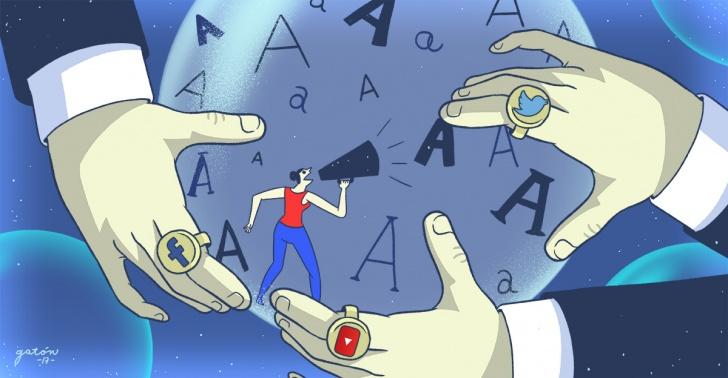 redes sociales, cámara de eco, facebook, twitter, noticias, información