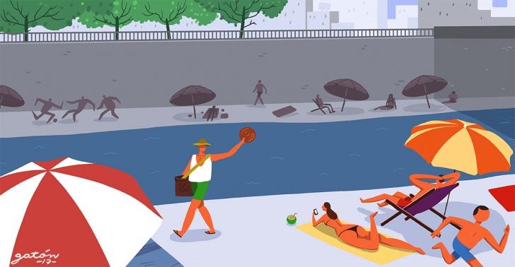 ríos, ciudad, urbanismo, actividad, beneficios