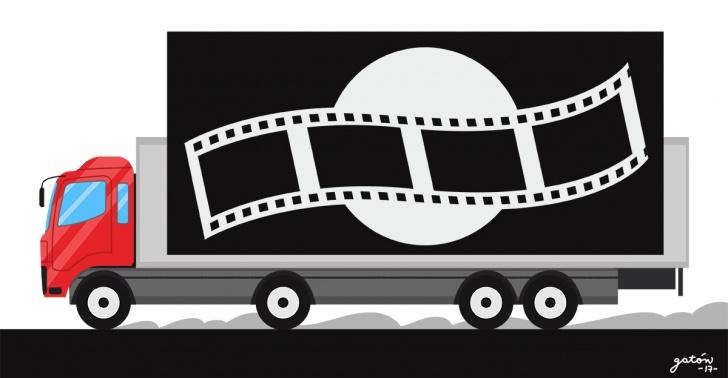 cine, Cine Móvil, Caja Los Andes, verano, panorama, beneficios