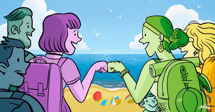 vacaciones, paseos, verano, amigos, organización, hijos, familia, reglas, libertad, presupuesto