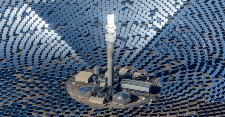 planta, energia, solar, chile, electricidad, renovable, medioambiente